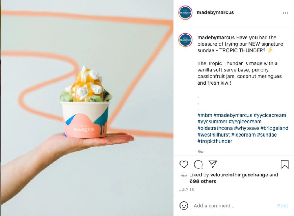 made by marcus ice cream