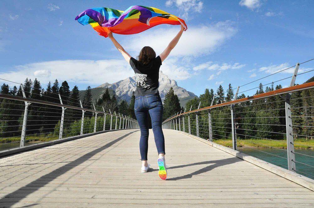 banff pride flag
