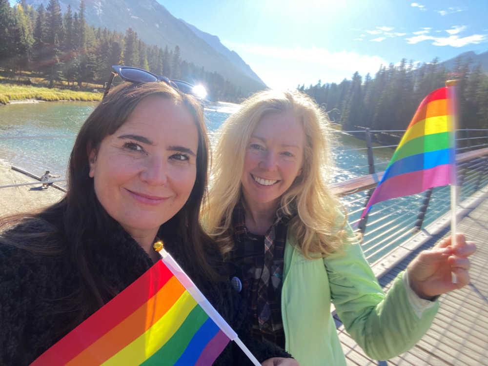 Banff Rainbow Walk