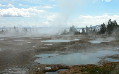 Yellowstone West Thumb, Wyoming