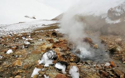 IJs en vuur, Landmannalaugar, IJsland, 2011