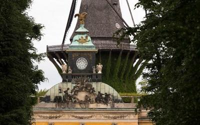 De tuinen van park Sanssouci, Potsdam, Berlijn, Duitsland, 17-5-2016