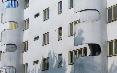 Architectuur in Siemensstadt, Berlijn, Duitsland, 20-5-2016