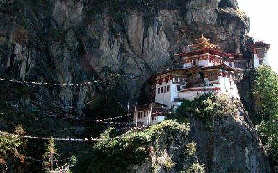 Bhutan, Taktsang Palphug Monastery oftewel Tiger's Nest
