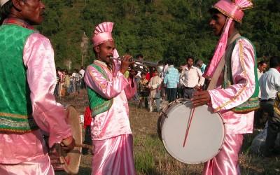 Feest in Rumpo, Sikkim, India, 2009