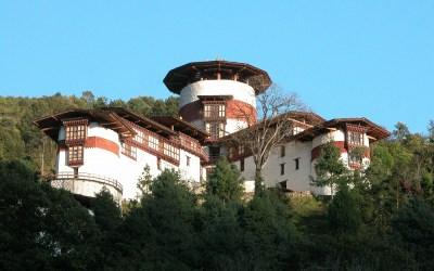 Bhutan, Dzong van Trongsa