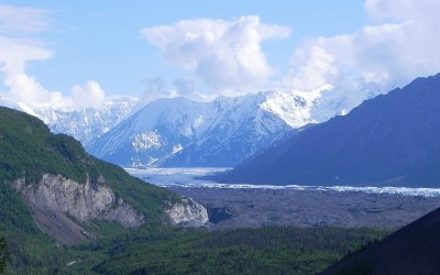Alaska, Matanuska Valley and Glacier