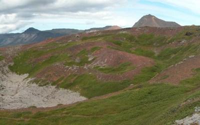IJsland, krater van de Búdaklettur