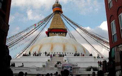 Bodhnath Stupa, Kathmandu, Nepal, 2006