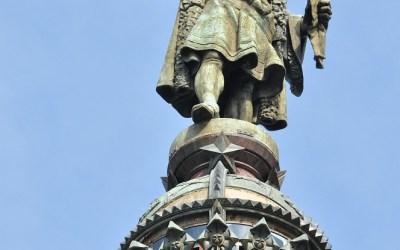 Barcelona, standbeeld van Columbus