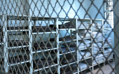 In de gevangenis Alcatraz, San Francisco, USA, 2011