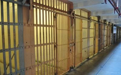 Een van de celblokken, Alcatraz, San Francisco, USA, 2011