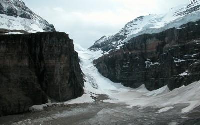 Eindpunt wandeling Plain of the Six Glaciers, Lake Louise, Canada, 2008