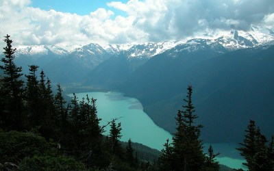 High Note Trail, Whistler, Canada, 2008