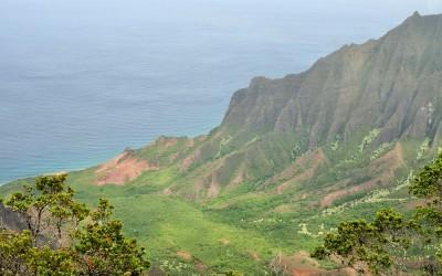Kalalau Outlook, Kauai, Hawaii, 2011
