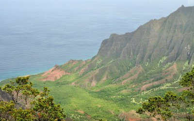 Kalalau Outlook, Kauai, Hawaii, 2011