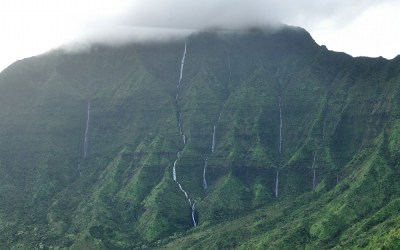 Weeping Mountains, Kauai, Hawaii, 2011