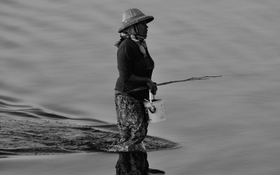 Myanmar, Amarapura, Taungthmanmeer
