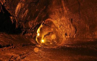 Thurston Lava Tunnel, Vulcanoes NP, Big Island, Hawaii, 2011