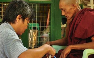 Myanmar, Amarapura Klooster
