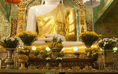 Myanmar, Sagaing Hill, Soon U Ponnya Shin-Pagode