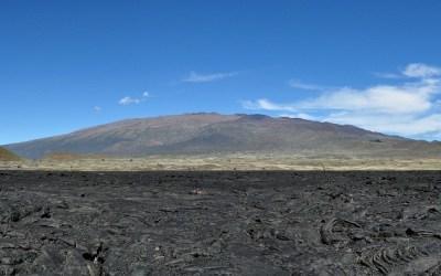 Mauna Loa Schildvulkaan, Big Island, Hawaii, 2011