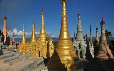 Myanmar, Inle Meer, Phaung Daw U Kyaung Klooster