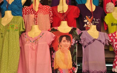 Myanmar, Yangon, Aung San Suu Kyi