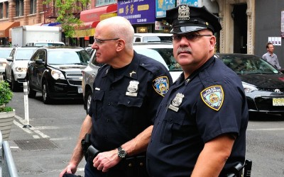 Cops of New York, NYC, 21-9-2014