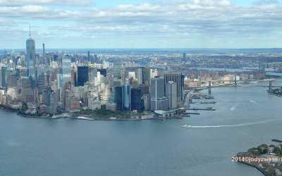 Skyline of Manhattan, NYC, 22-09-2014