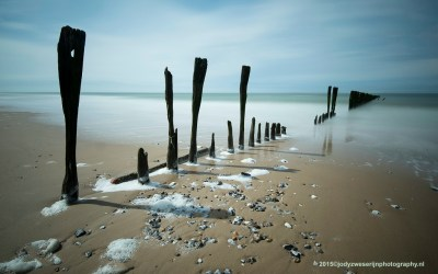 Strand bij Sangatte, Opaalkust, 4-5-2015