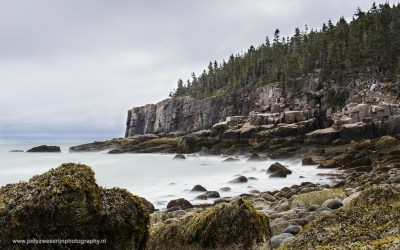 Otter Cliffs and Boulder Beach, Acadia NP, USA, 1-10-2015