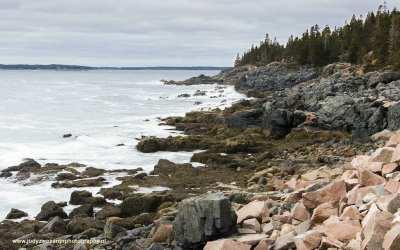 Ocean Drive, Acadia NP, USA, 1-10-2015