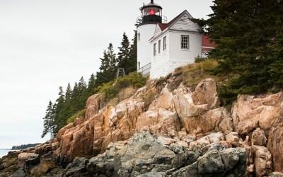 Bass Harbor Light House, Acadia NP ME, USA, 1-10-2015