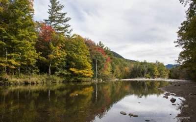 Langs de 302, Crawford Notch State Park, NH, USA, 5-10-2015