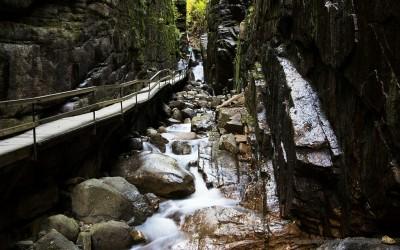 Flume Gorge, Franconia State Park NH, USA, 6-10-2015