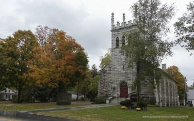 Kerkje in Dorset VT, USA, 9-10-2015