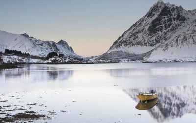 Sildpollneset. Lofoten, Noorwegen, 9-3-2016