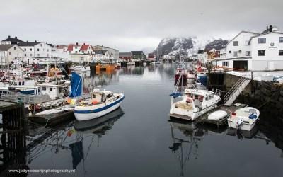 Henningsvaer, Noorwegen, 11-3-2016