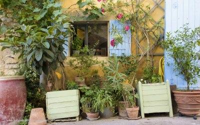 Goult, Provence, Frankrijk, 3-7-2016
