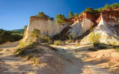Le Colorado Provencal, Rustel, Provence, Frankrijk, 6-7-2016