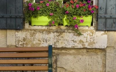 Ménerbes, Provence, Frankrijk, 6-7-2016