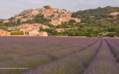 Zonsopkomst bij Semaine de la Rotonde, Provence, Frankrijk, 11-7-2016