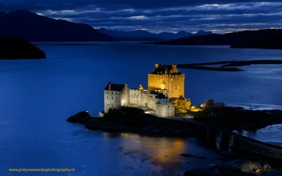 Eilean Donan Castle, Highland, Schotland, 13-10-2016