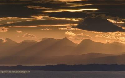 Uitzicht vanaf Quiraing, Isle of Skye, Schotland, 16-10-2016