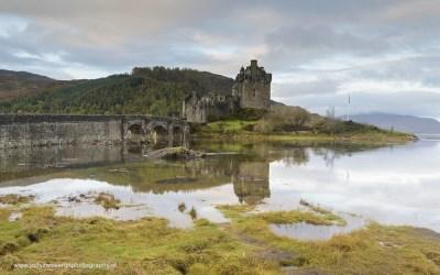 Eilean Donan Castle, Highland, Schotland, 19-10-2016