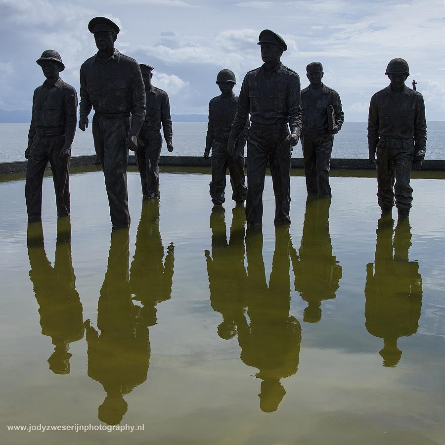MacArthur landt op Leyte, Leyte, Filipijnen, 12-11-2018