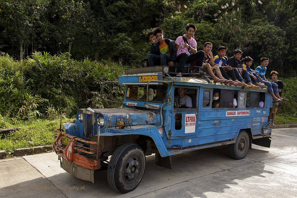 Jeepney, Banaue, Luzon, Filipijnen, 15-11-2017