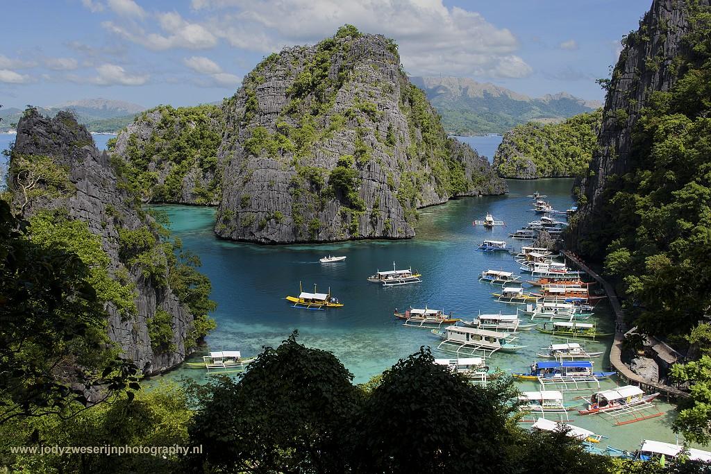 Baai bij Kayangan Lake, Coron, Palawan, Filipijnen, 29-11-2017