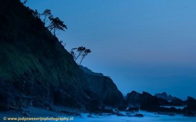Het mooiste licht na zonsondergang op Playa Silencio